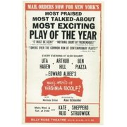 Who's Afraid Of Virginia Woolf (Broadway) Movie Poster (11 x 17)