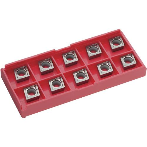 Grizzly T20671 Carbide Inserts CCMW for Cast-Iron, pk. of 10