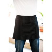 Adams Headwear 00820599192661 BLACK PINSTRIPE WAIST APRON AP15 BLACK PINSTRIPE ONE SIZE FITS ALL