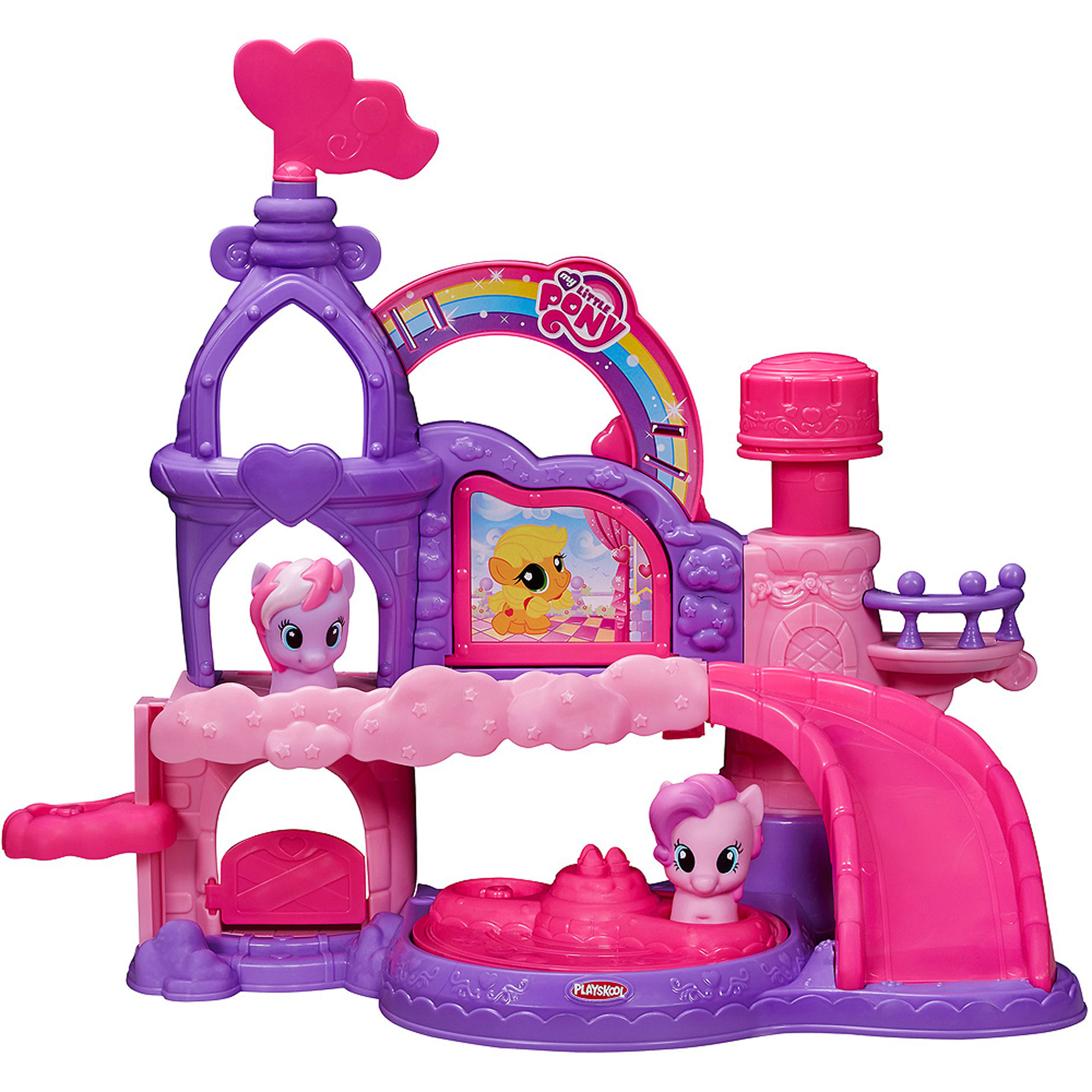 Playskool Friends Musical Celebration Castle Featuring My Little Pony by Hasbro