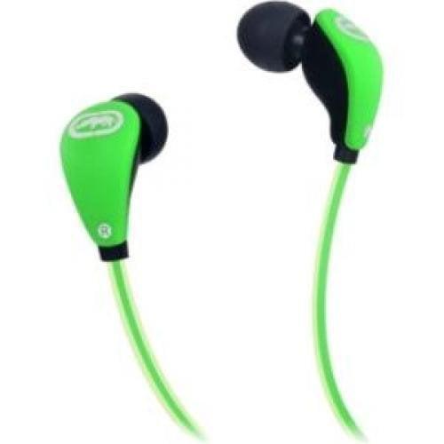 ECKO UNLIMITED EKU-GLW-GRN Glow Earbuds with Microphone (Green)