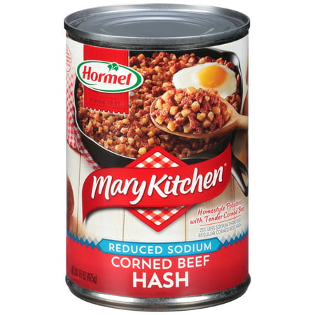 (3 Pack) Mary Kitchen Reduced Sodium Corned Beef Hash 15 oz.