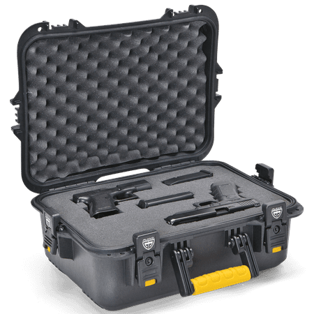 Plano All Weather X-Large Pistol & Accessories Case,
