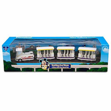 disney parks die cast car parking lot tram playset new with box - Box Shaped Cars