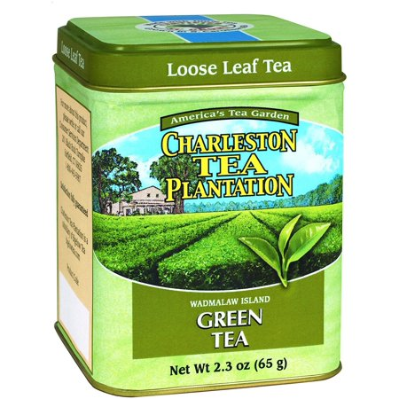 American Classic Loose Tea, Island Green Tin, 2.3 Ounce, New,