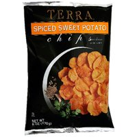 Terra Chips Spiced Sweet Potato Chips, 6 oz (Pack of 12)