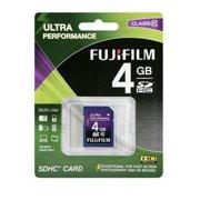 Fuji Film USA 600008928 4GB SDHC Memory Card