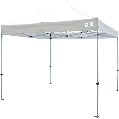 Caravan Canopy Sports 10x10 TitanShade Instant Canopy, White (100 sq ft Coverage) by Caravan Canopy Int'l Inc