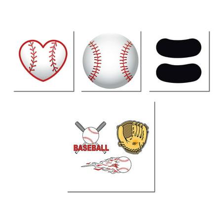 Baseball Temporary Tattoo Pack (Baseball Tattoos)