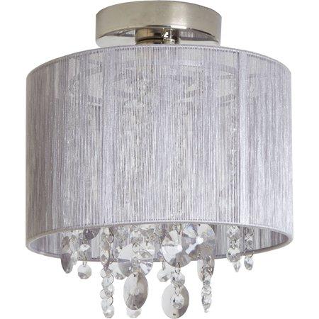 Silvia String Beaded Flush Mount Ceiling Light ()