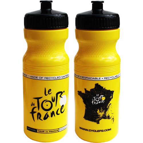Tour De France, Tour De Jour Series 24-oz. Water Bottle, Yellow