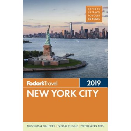 Fodor's new york city 2019 - paperback: