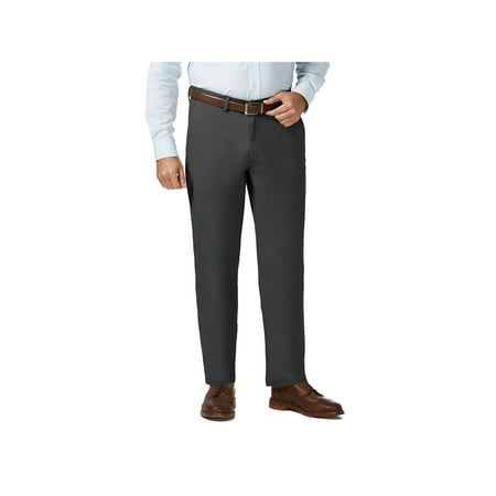 Men's Big & Tall Coastal Comfort Flat Front Pant Classic Fit HC90223 Big And Tall Mens Pants