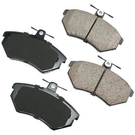 Akebono EUR696 EURO Ultra-Premium Ceramic Brake Pad Set Akebono Euro Brake Pads