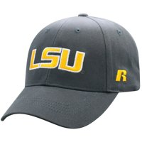 Men's Russell Athletic Charcoal LSU Tigers Endless Adjustable Hat - OSFA