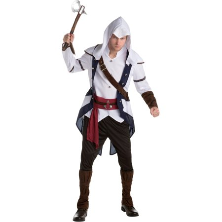 Assassin's Creed III Connor Assassin Classic Mens Costume (Assassin's Creed 3 Costume Replica)