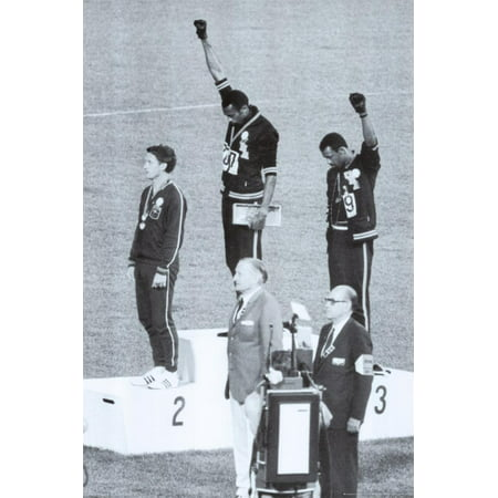Black Power, Mexico City Olympics 1968 Poster -
