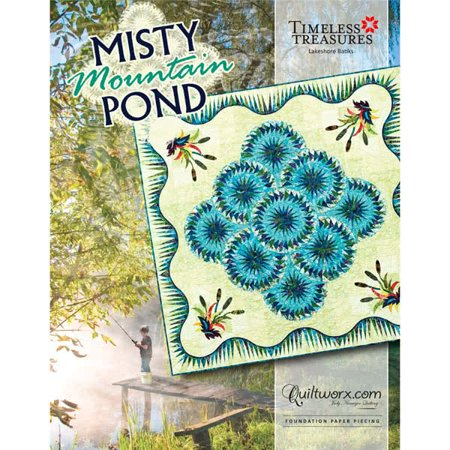 Misty Mountain Pond Quilt Pattern by
