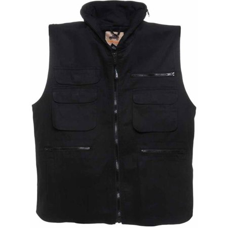 Ranger Vest with 9 Pockets nd Hideaway Hood, , 100 Percent Cotton, Available in Multiple Colors and Sizes