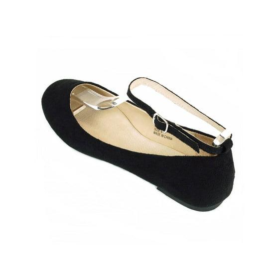 353f277ceef alpine swiss - AlpineSwiss Calla Womens Ballet Flats Ankle Strap Shoe  Classic Ballerina Slipper - Walmart.com