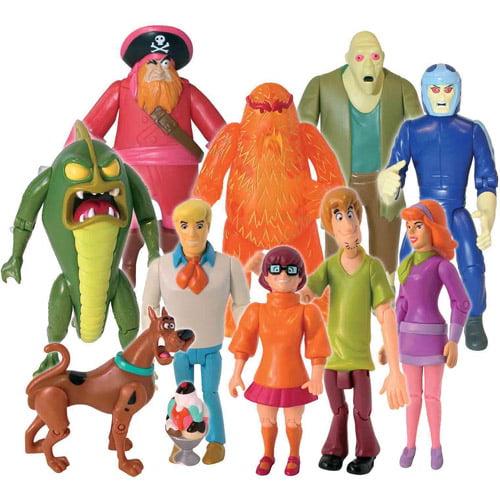 Scooby Doo Monster Set, 10-Figure Pack SCD62286