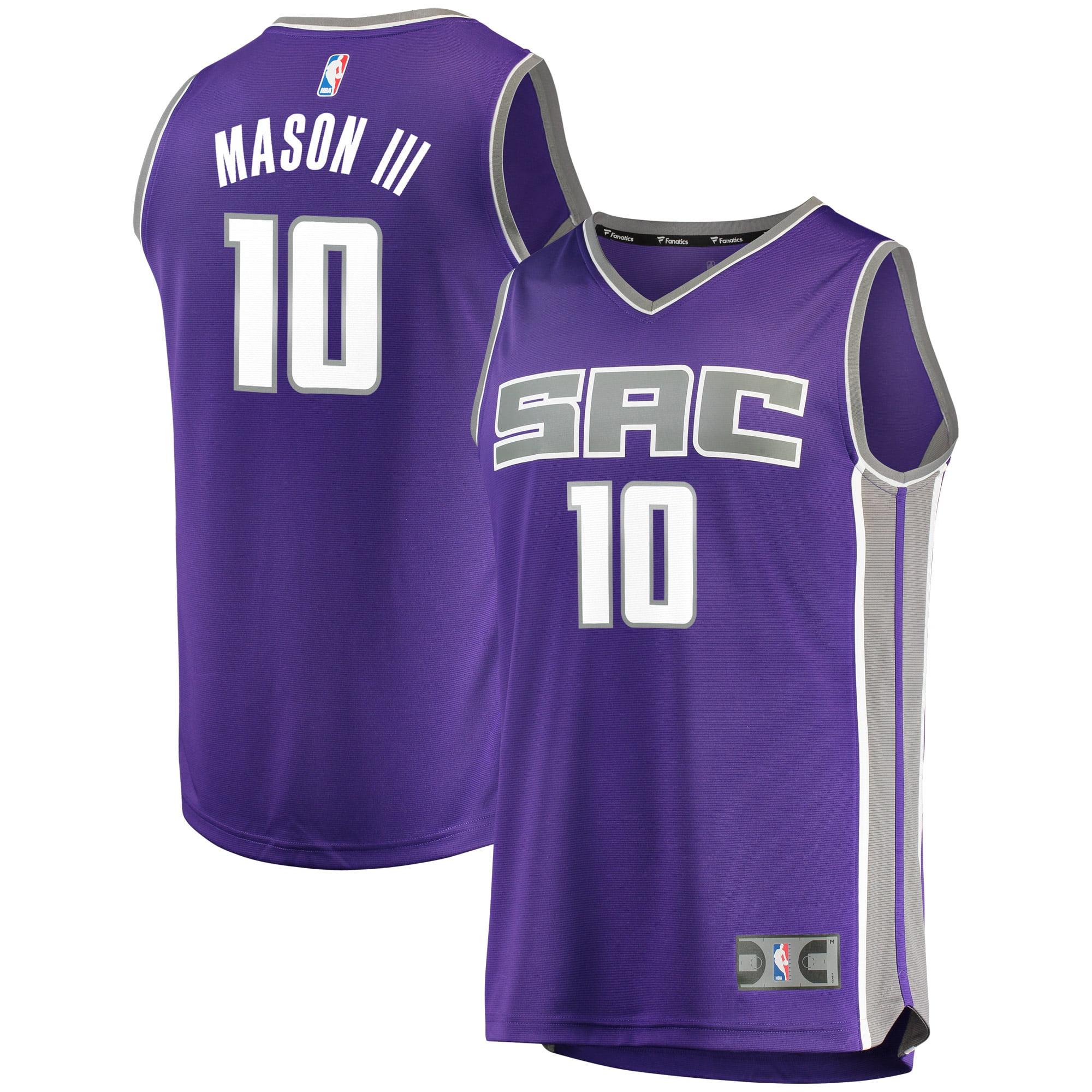 Frank Mason III Sacramento Kings Fanatics Branded Fast Break Road Replica Player Jersey - Purple