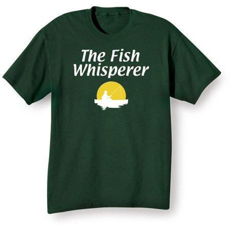 Unisex adult the fish whisperer shirt t shirt or for The fish whisperer
