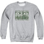 Arrow Not Guilty Mens Crew Neck Sweatshirt