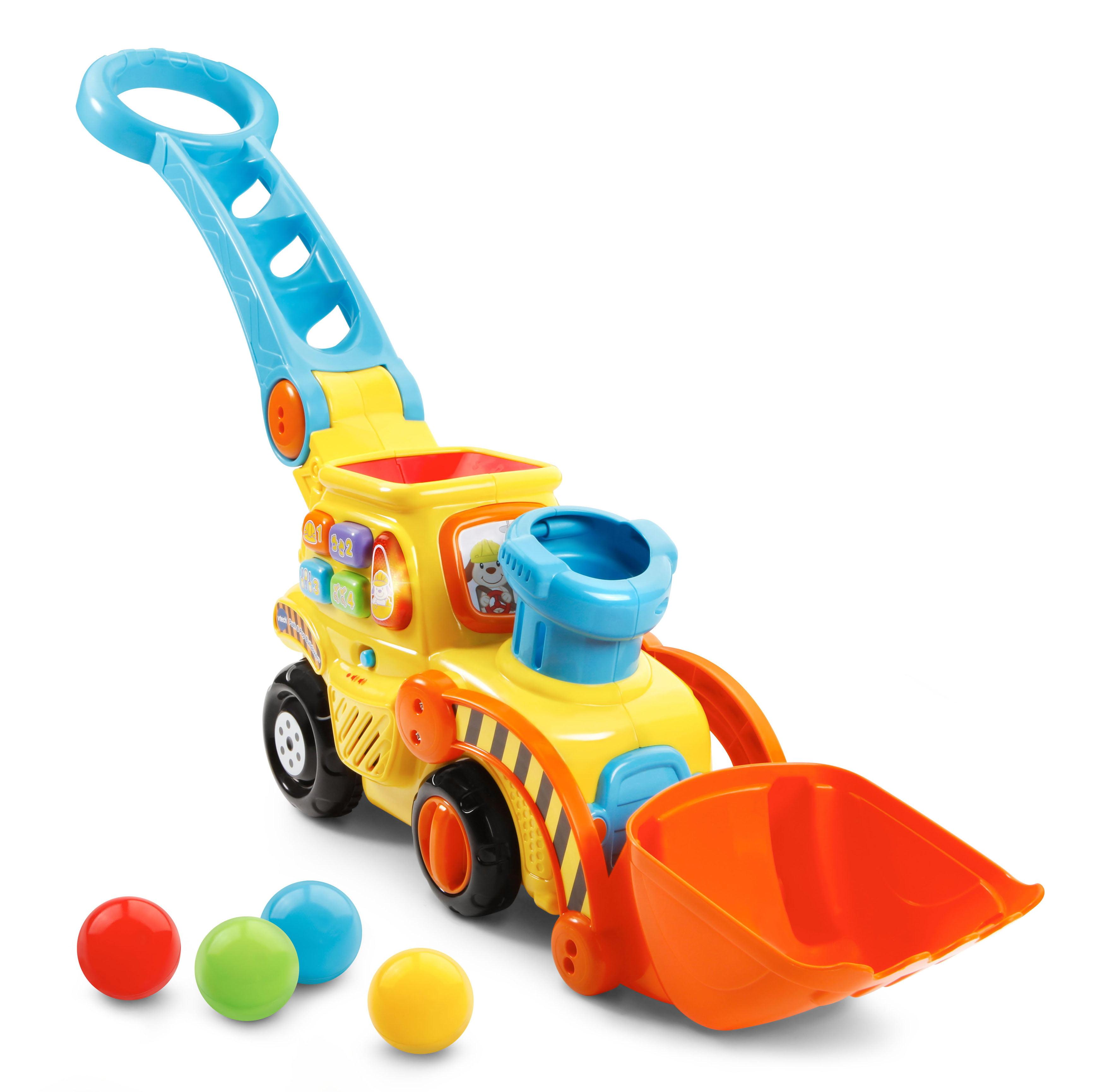 VTech® Pop-a-Balls™ - Push & Pop Bulldozer™ - Walmart.com
