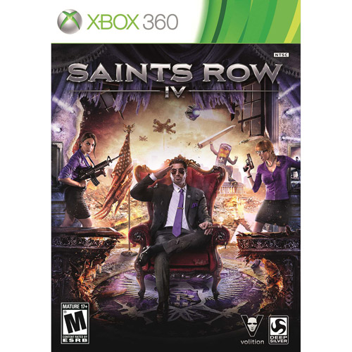 Saints Row 4 (Xbox 360) - Pre-Owned