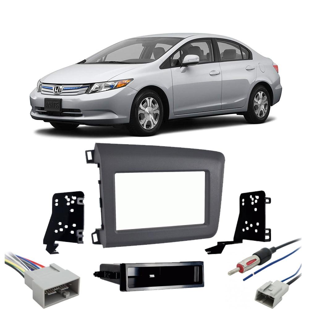 Honda Civic 2012 Double DIN Stereo Harness Radio Install Dash Kit Package  New - Walmart.com - Walmart.comWalmart