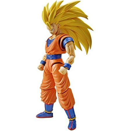 Bandai Hobby Figure-Rise Standard Super Saiyan 3 Son Goku Dragon Ball Z Building (Son Kit)