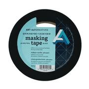 """Art Alternatives pH Neutral Black Masking Tape, 3/4"""" x 60 yds. Roll"""