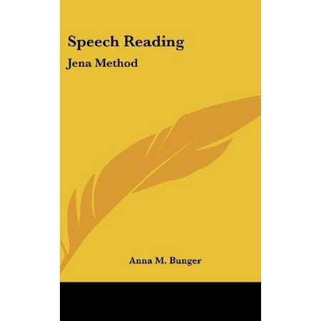 Speech Reading: Jena Method - image 1 of 1