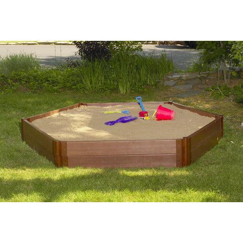 Frame It All Hexagonal Sandbox by