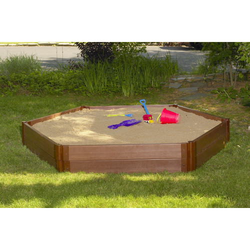 Frame It All Hexagonal Sandbox