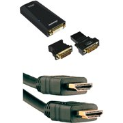 Diamond USB Video Display Adapter and Axis 6' HDMI Cable