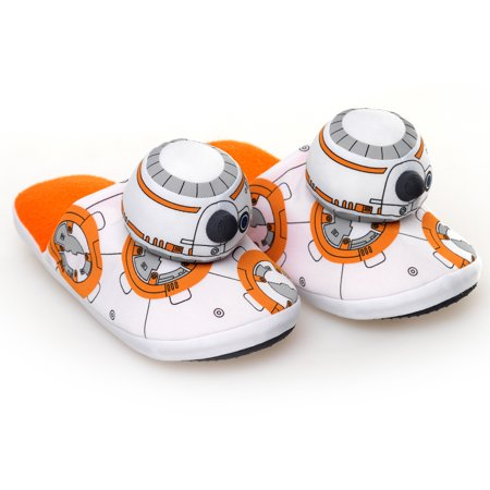 Star Wars: The Force Awakens BB-8 Plush Slippers - Size