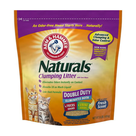 Arm & Hammer Naturals, Double Duty Litter, 9lb (Arm And Hammer Multi Cat Litter Ingredients)