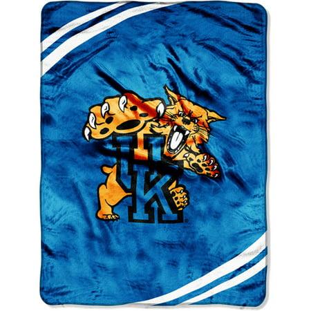 Kentucky Wildcats NCAA Force Series Raschel Plush 60x80 Twin Size Throw Blanket Kentucky Wildcats Ncaa Light