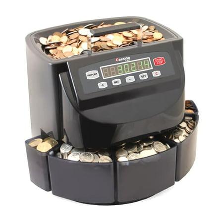 - Cassida C-C200 Coin Sorter Wrapper