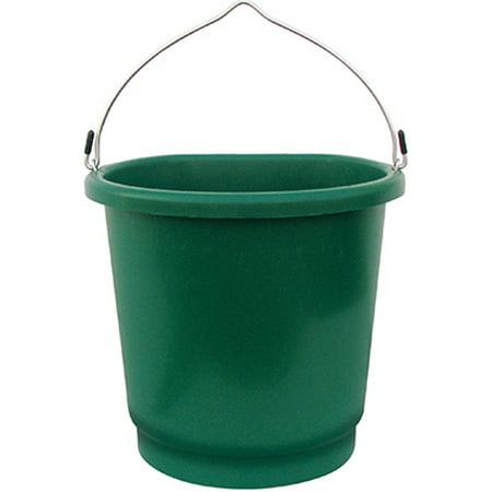 Farm Innovators FB-80 Heated Bucket, Flat Back, 3-Gals.