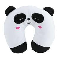 Tebru Animal Travel Neck PP Cotton Pillow Soft U Shaped Car Head Rest Toy Cushion, U Pillow, Travll Pillow