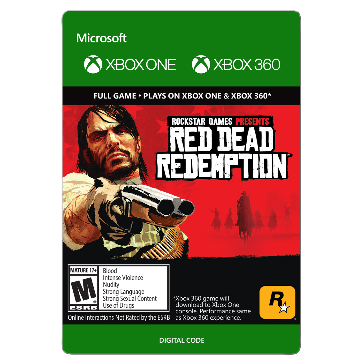 Xbox 360 Red Dead Redemption (Email Delivery)