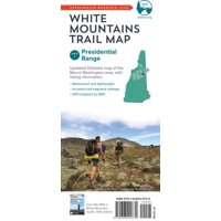 AMC White Mountains Trail Map 1: Presidential Range