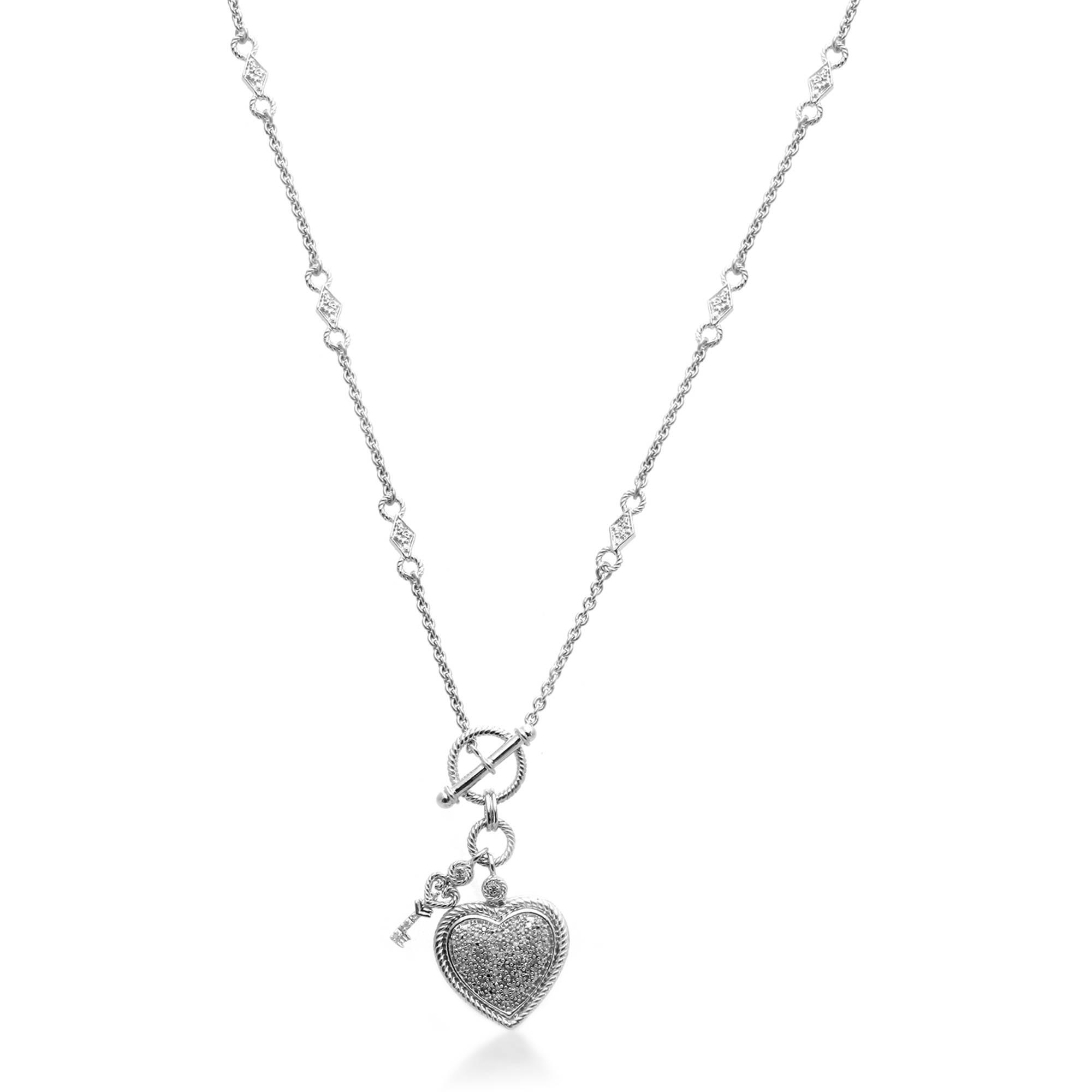 "1/5 Carat T.W. Diamond Fashion Necklace, 18"""