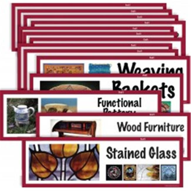 American Educational CP1809 Art Display Cards Craft