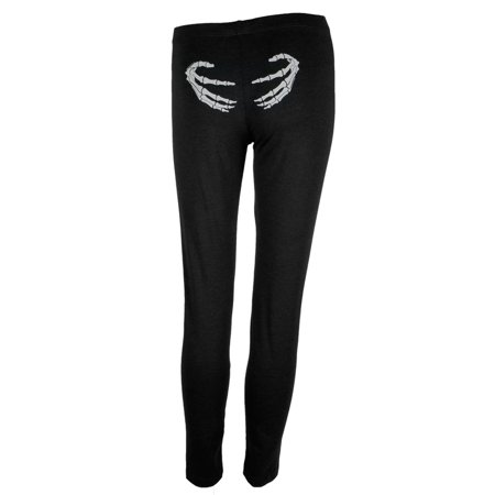 Skeleton Hands Women's Leggings](Skeleton Leggings And Top)