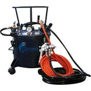 CALIFORNIA AIR TOOLS 5 Gallon Pressure Pot with HVLP Spray Gun & Hose