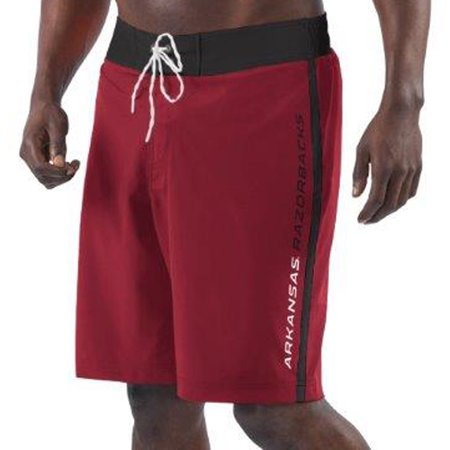 Arkansas Razorbacks G-III Sports by Carl Banks Endurance Swim Trunks -